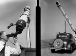 Shelley Stoody, telescope