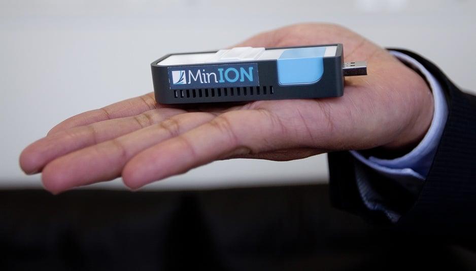 Minion Sequenziatore Portatile Per Identificare Virus E
