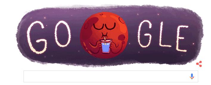 Doodle Marte