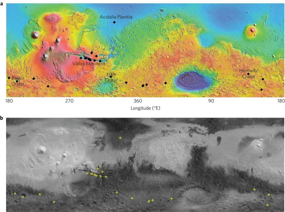 Mappatura Termica Marte