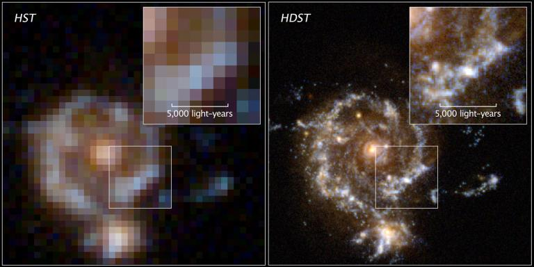 Hubble vs Hdsp