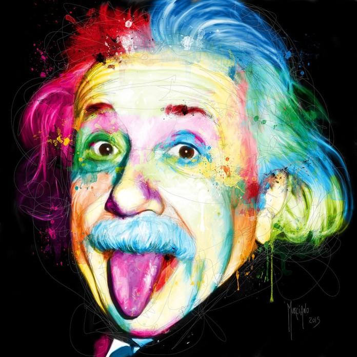 Albert Einstein by Patrice Murciano