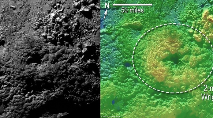 Wright Mountain, Pluto