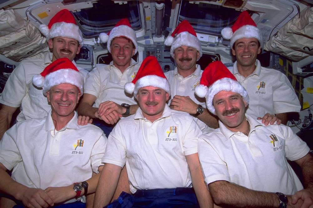 Christmas on ISS