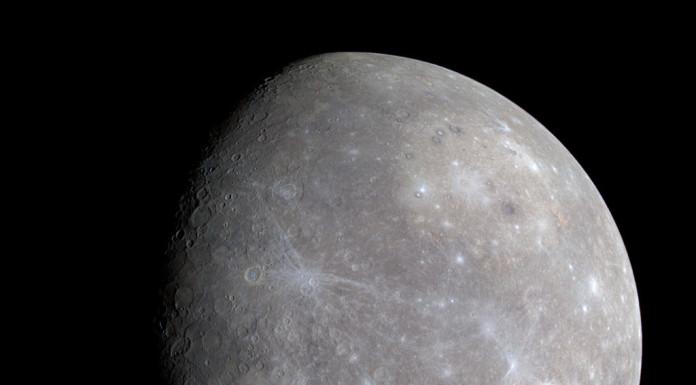 Lato oscuro di Mercurio