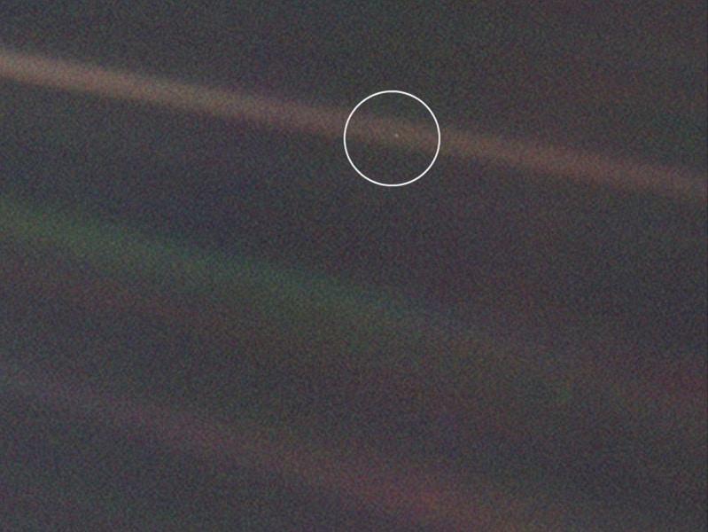 La Terra ripresa da 6 miliardi di Km