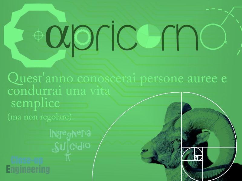 Oroscopo 2016 - Capricorno