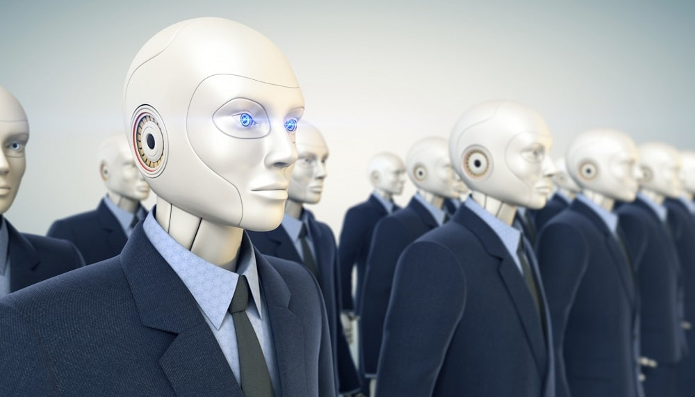 Robot al lavoro