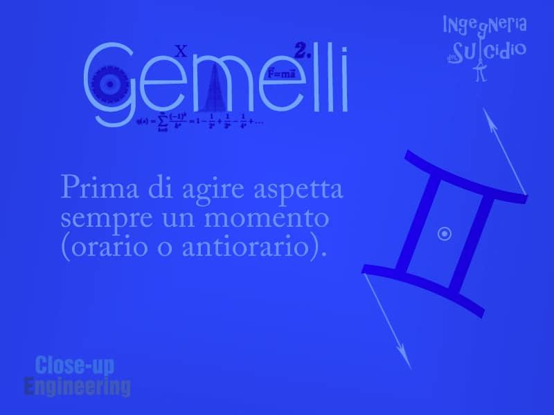 Oroscopo 2016 - Gemelli