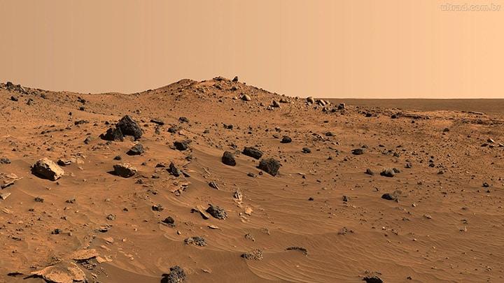 Creato il primo calcestruzzo per Marte.