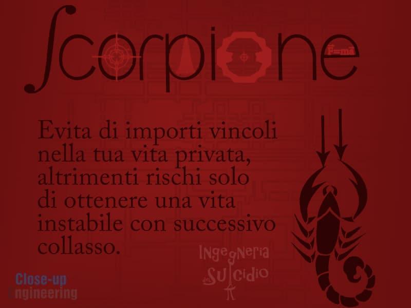 Oroscopo 2016 - Scorpione