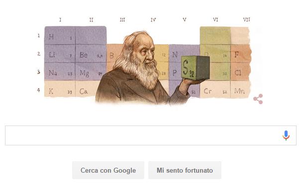 Dmitrij Ivanovič Mendeleev by Google
