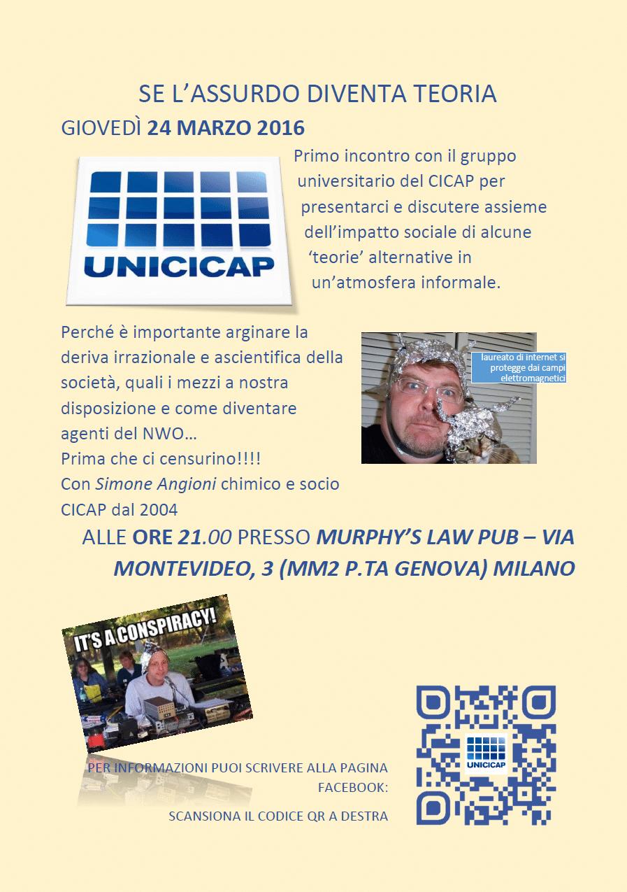 Volantino Unicicap