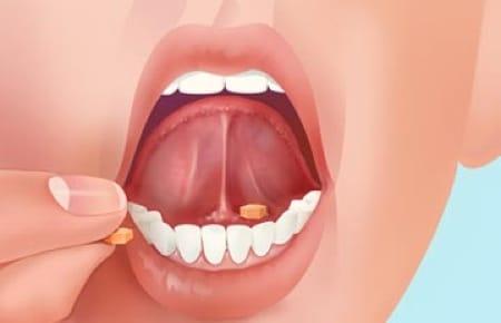 Assunzione sublinguale di un farmaco