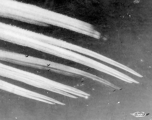 Scie chimiche durante la seconda guerra mondiale