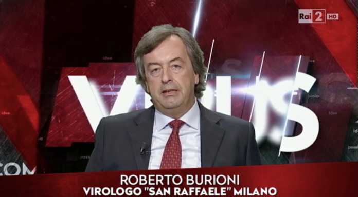 Roberto Burioni su RAI 2, Virus: il contagio delle idee