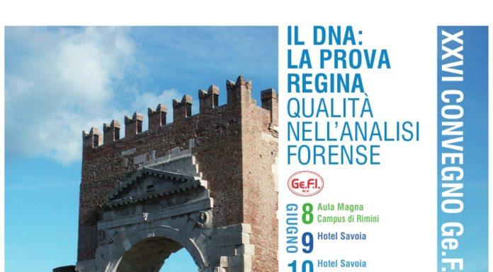XXVI Convegno Genetisti Forensi Italiani
