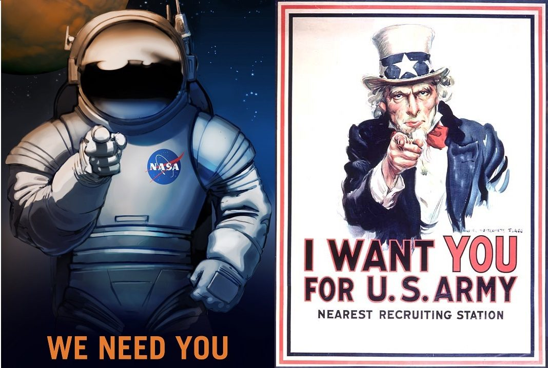 NASA and Uncle Sam