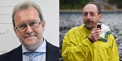Paolo Macchi (sinistra) e Gabriele Varani