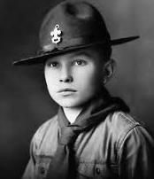 Armstrong ai tempi dello scout