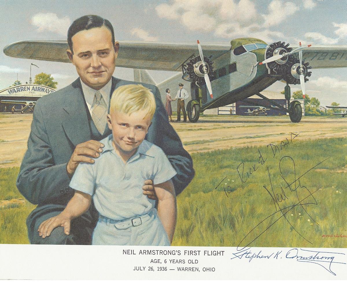 Il primo volo di Armstrong