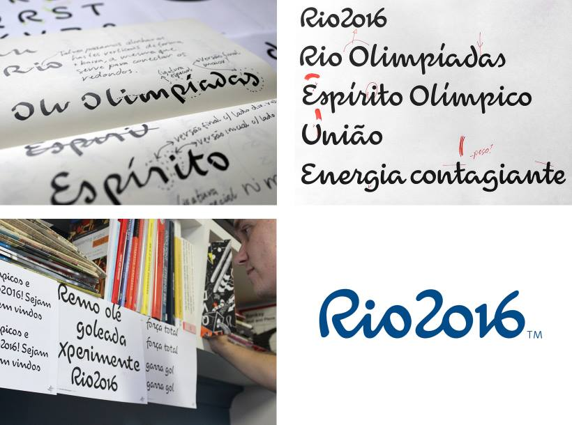 Logotipo for Rio 2016 Olympic Games