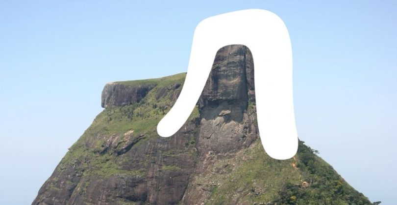 R letter lowercase for font Rio 2016