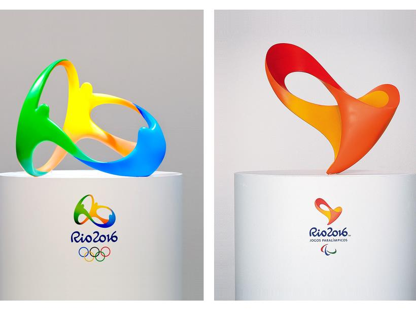 3D logo for rio 2016 by Tatil Deisng
