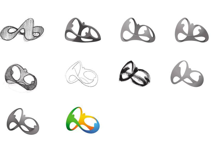 2D logo for rio 2016 by Tatil Deisng