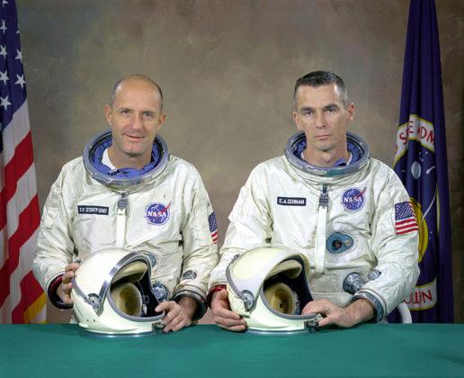 Actual Gemini 9 Prime Crew