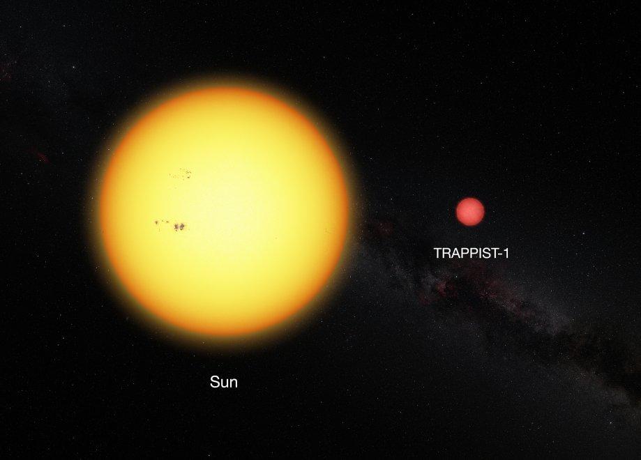 Sole - TRAPPIST-1