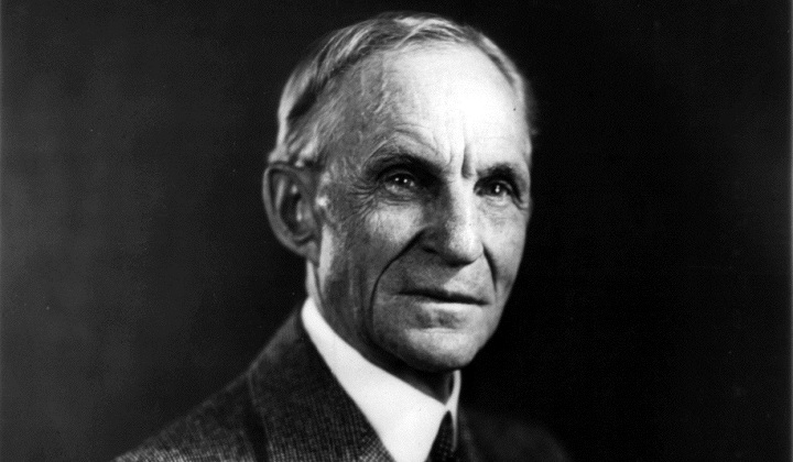 Henry Ford e la catena di montaggio