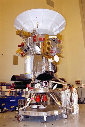 L'assemblaggio di Cassini