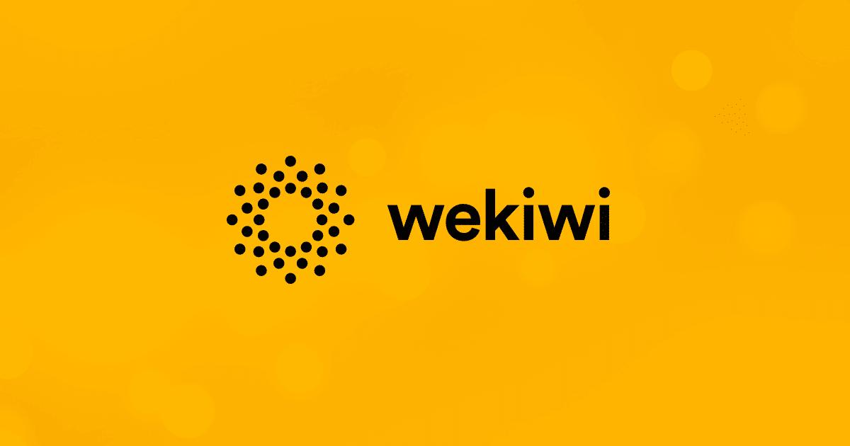 Wekiwi fornitura gas via web