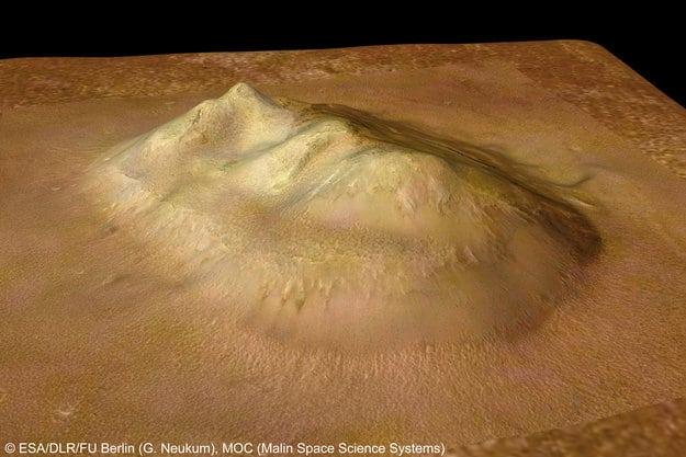 La faccia su Marte