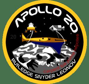 Il logo di Apollo 20