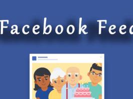 Facebook Feed - Novità 2018