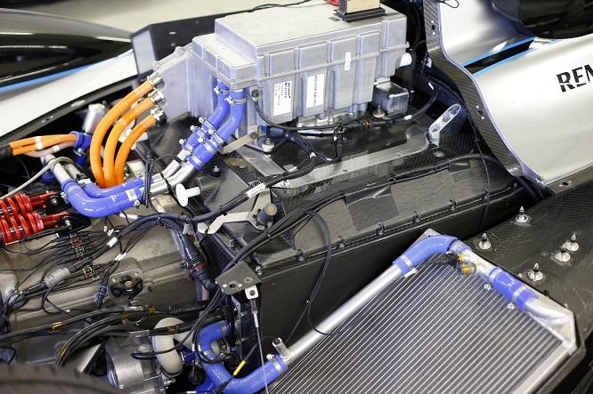 Formula E motore e radiatori